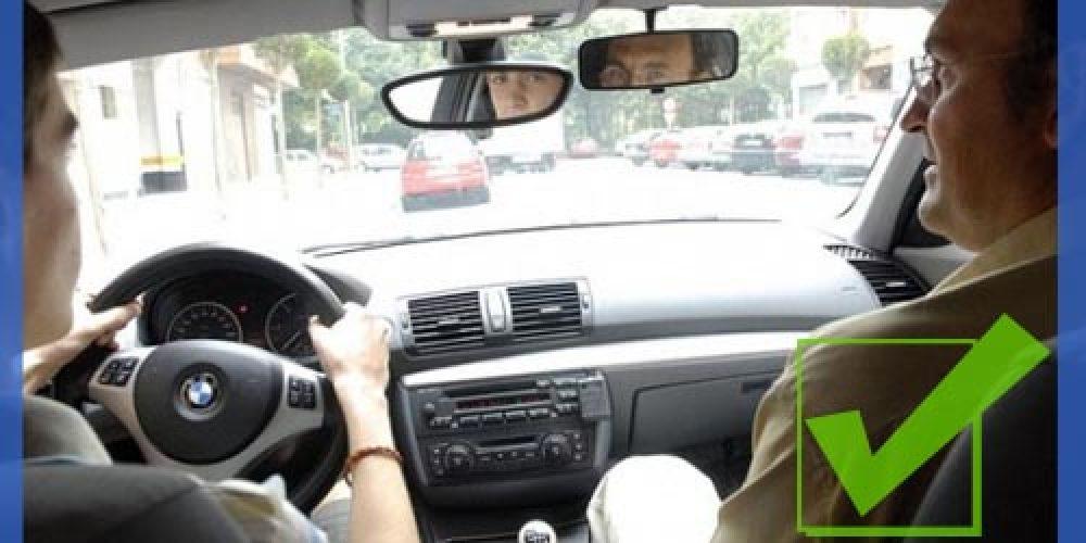63 tinerfeños estrenan el nuevo examen práctico de conducir