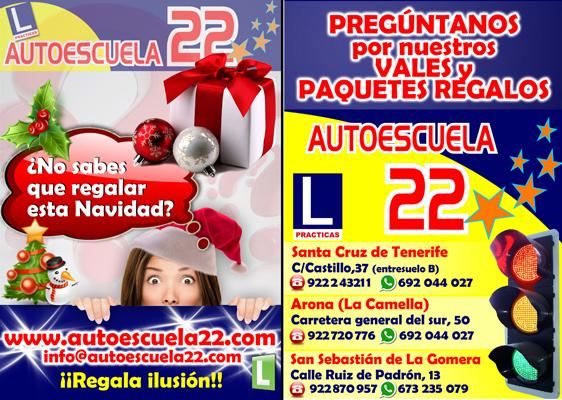 Promoci n navidad autoescuela22 for Autoescuelas santa cruz de tenerife